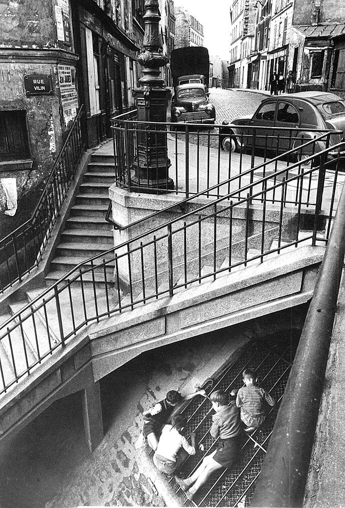 willy ronis belleville